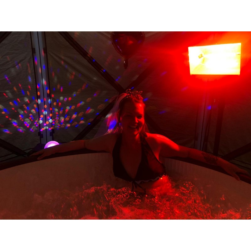 Hot tub 3 night hire
