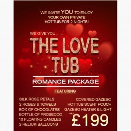 The love tub romance package