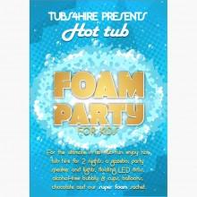Kids Super foam party*