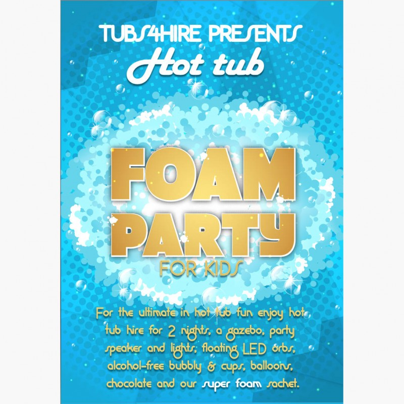 Kids Super foam party*