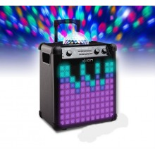 100W bluetooth speaker & light show to hire