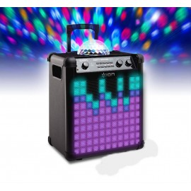 120W bluetooth speaker & light show to hire