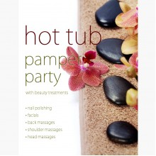 Hot tub pamper party