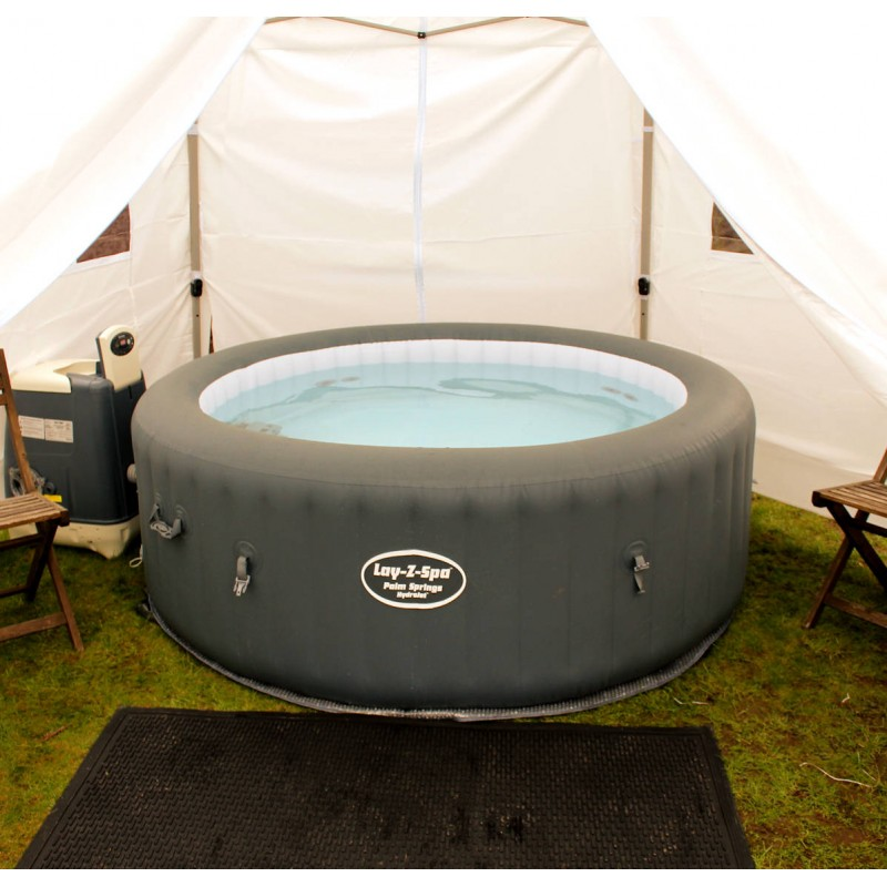 Hot tub 6 night hire