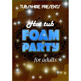 Adults Super foam party*