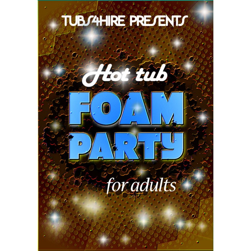 Adults Super foam party